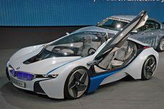 2013 BMW i8 Concept Car