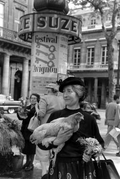 Walking Your Chicken Around Paris in Style: A Pictorial Guide   LIFE.com. i love this picture <3 also because it brought back nice memories when i was in Avignon.