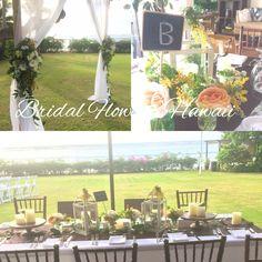 ガゼボ装花 テラス席装花 室内テーブル装花