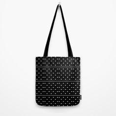 White Speckled Diamond Lines Tote Bag by Sheldon Stewart   Society6