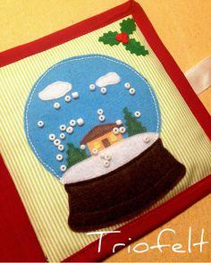 Snow globe maze #quietbook #softbook #busybook #cartesenzoriala #fabricbook #handmade #sewing #felt #feltbook #cartisenzoriale #christmasgift #развивающаякнижка #изфетра #фетр #книгаизткани #сенсорнаякнига #ручнаяработа #книжкаизфетра #montessori #gift #feltcraft #activitybook #handcrafted #librosensorial #instahandmade #instacraft #etsy #snowglobe