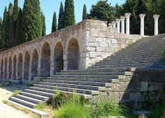 The sanctuary of Asclepius on the island of Kos, Greece