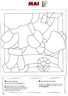 Free Sunbonnet Sue Overall Sam Quilt Patterns Applique Templates, Applique Patterns, Applique Quilts, Applique Designs, Girls Quilts, Baby Quilts, Patchwork Patterns, Quilt Patterns, Winter Quilts