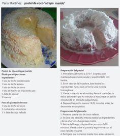 Pastel de Coco Atrapa Marido
