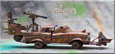 post apocalyptic vehicle drawings* - Google'da Ara