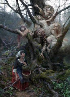 Dark Fantasy Art, Dark Art, Dungeons And Dragons, Art Watch, Sci Fi Art, Horror Art, Art Girl, Illustrators, Character Art