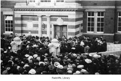 Radcliffe library has a very strong connection with the Bealey family. In 1902, the Urban District Council applied to Andrew Carnegie, a U.S. millionaire of Scottish extraction, for a Public Library Grant. The Carnegie U.K. Trust responded with an offer of £5000 topwards the cost of building a Public Library for Radcliffe.