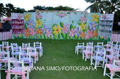 Fairy party backdrops