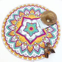 #FASHION #NEW Cupshe Purple DreamTassel Tapestry Round Beach Towel Yoga Towel Serviette De Plage Fudiya Circle Playa shawl