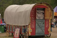 Gypsy wagon by xsforis, via Flickr
