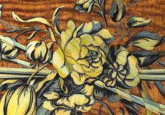 Detail marquetry  David Roentgen 1743 - 1807 Germany