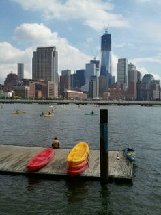 Free kayaking Downtown Boathouse in New York, NY