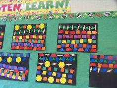 Math patterns-this is a link with lots of threads below Patterning Kindergarten, Kindergarten Math Activities, Preschool Math, Fun Math, Math Resources, Teaching Math, Maths Eyfs, Kindergarten Teachers, Teaching Ideas