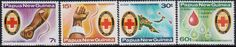 Papua New Guinea Red Cross Stamps.