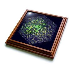 3dRose DYLAN SEIBOLD - PHOTO ABSTRACTION - DARK POWER CUBE - Trivets  by 3dRose  Link: