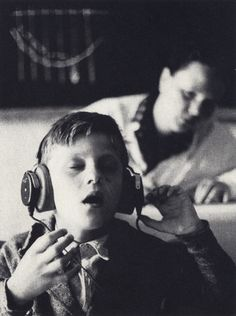 an-overwhelming-question:  Bruno Mooser - First listening experience of a deaf boy in Straubing, Germany, 1966