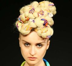It's fun to add fabric, beads and thread to change up your look but this is the way NOT to do it!