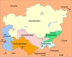 Kazakh map kazakhstan pinterest publicscrutiny Image collections