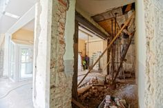 If you'd like to move forward with a renovation project safely & legally, building permits are a necessity. Home Remodeling Diy, Bathroom Renovations, Home Renovation, Construction Cleaning, Construction Jobs, Display Homes, Next At Home, Little Houses, Home Values