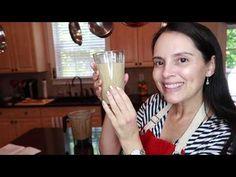 Delicioso licuado/batida para el desayuno, lleno de proteína de vegetal. - YouTube Glass Of Milk, Zucchini, Youtube, Food, Almond Butter, Vegan Protein, Vegetable Recipes, Vegans, Essen
