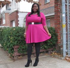 STYLE JOURNEY: BARNEY AINT GOT NOTHING ON ME :: Stylish Curves