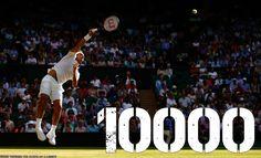 10,000 Aces ♠July 4th 2017 Wimbledon
