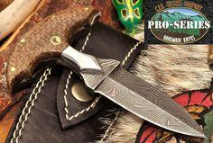 CFK USA Custom Handmade Twist Damascus Micarta Double Edge Dagger Knife Knives | eBay