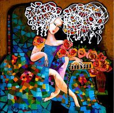 Stela Vesa artista cu simtul universalitatii feminine