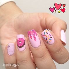 cute acrylic nails for kids ~ nails kids cute ` nails kids cute easy ` cute nails for kids ` kids nail designs cute ` kids nails cute simple ` nails for kids cute short ` cute acrylic nails for kids ` fake nails for kids cute Girls Nails, Pink Nails, My Nails, Little Girl Nails, Simple Nail Art Designs, Easy Nail Art, Nail Designs For Kids, Easy Kids Nails, Cute Kids Nails