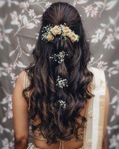 Bridal Hairstyle Indian Wedding, Indian Wedding Makeup, Bridal Hair Buns, Bridal Hairdo, Indian Bridal Hairstyles, Indian Makeup, Bride Hairstyles, Bridal Makeup, Arabic Makeup