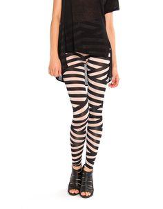 Funky Striped Leggings