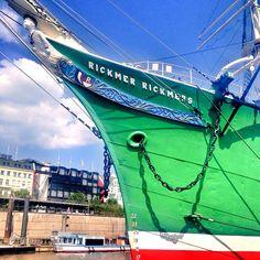 #RickmerRickmers #Hamburg #Hafen