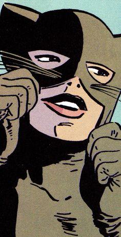 Catwoman by David Mazzucchelli Batman #406 (April 1987)
