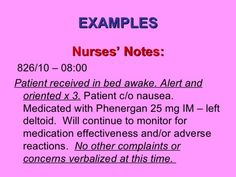 Nurses Notes Template - FREE DOWNLOAD