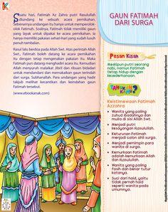 Fatimah Az Zahra dan Gaun dari Surga   Ebook Anak