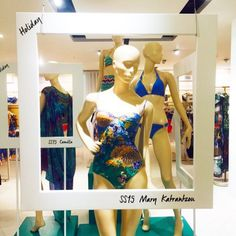 at Selfridges Department Store in London Mary Katrantzou, Ss 15, Department Store, Camilla, Design Inspiration, Display, London, Unique, Fashion Design