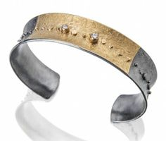 BR47 Golden Galaxy cuff | Sydney Lynch