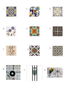 Something Pretty on the Side: In the Detail: Tiles