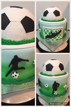 Football cake Informations About Football cake Soccer Birthday Cakes, Ball Birthday, Soccer Ball Cake, Soccer Cakes, Football Cakes, Chef Cake, Fig Cake, Shirt Cake, Cake Factory