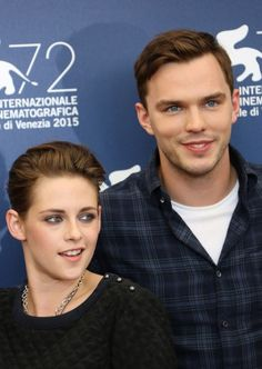 Kristen Stewart and Nicholas Hoult at 'Equals' Photocall in Venice