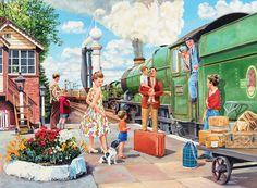 Tren, gezi, istasyon