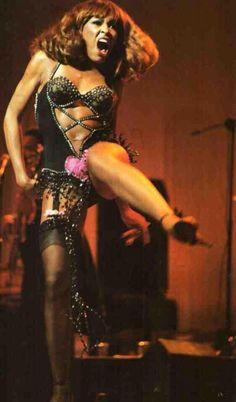 Tina Turner in Bob Mackie 1978