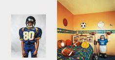 Onde as crianças dormem ao redor do mundo. Justin, 8 anos, mora em Nova Jérsei, Estados Unidos.