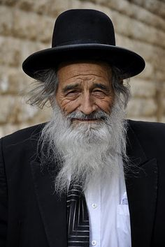 Jewish Rabbi in Israel