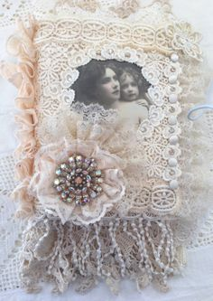 Mother & Daughter Fabric Journal
