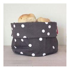 bread bag SNÖ grey