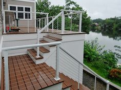 Decks with a view - eclectic - deck - Feeney Inc.
