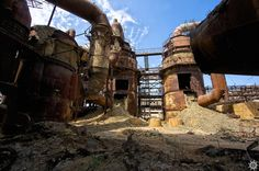Trip to abandoned Russian plant of sulphur acid
