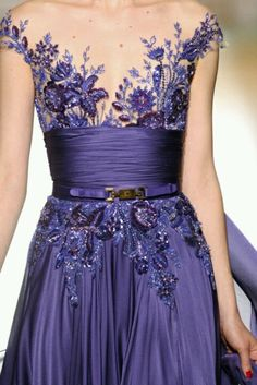 Zuhair murad dress-details at chest