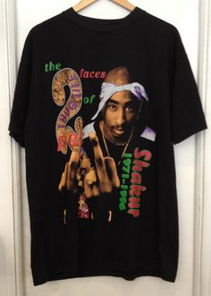 Tupac Double Sided Memorial T-Shirt